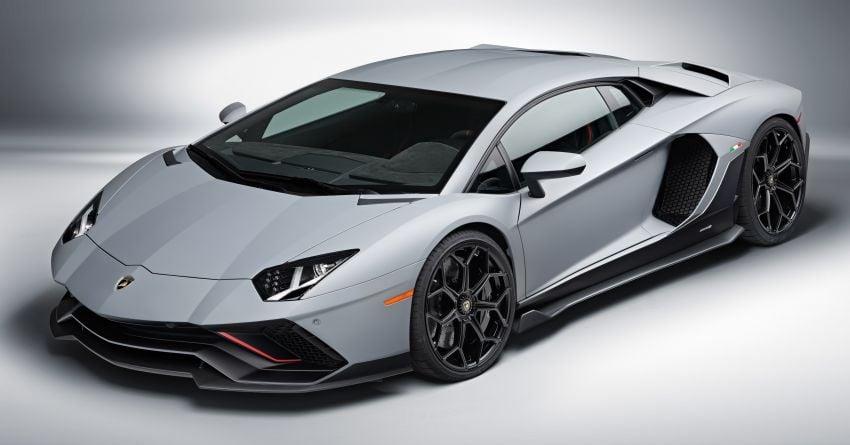 Lamborghini Aventador LP 780-4 Ultimae debuts – 350 coupes, 250 roadsters; 780 PS V12; 0-100 km/h in 2.8s Image #1316818