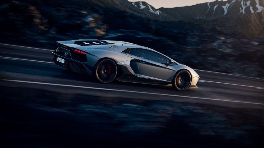 Lamborghini Aventador LP 780-4 Ultimae debuts – 350 coupes, 250 roadsters; 780 PS V12; 0-100 km/h in 2.8s Image #1316798