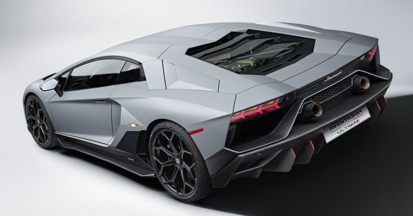 Lamborghini Aventador LP 780-4 Ultimae debuts – 350 coupes, 250 roadsters; 780 PS V12; 0-100 km/h in 2.8s Image #1316820