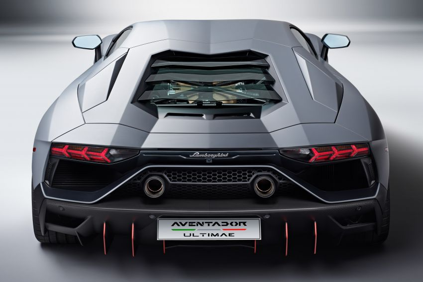 Lamborghini Aventador LP 780-4 Ultimae debuts – 350 coupes, 250 roadsters; 780 PS V12; 0-100 km/h in 2.8s Image #1316823