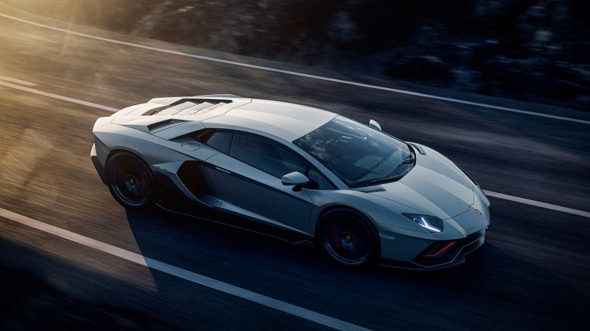 Lamborghini Aventador LP 780-4 Ultimae debuts – 350 coupes, 250 roadsters; 780 PS V12; 0-100 km/h in 2.8s Image #1316800