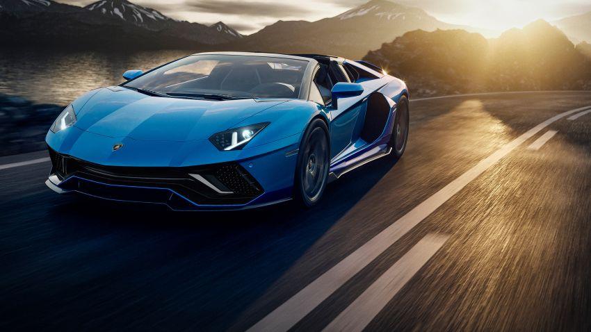 Lamborghini Aventador LP 780-4 Ultimae debuts – 350 coupes, 250 roadsters; 780 PS V12; 0-100 km/h in 2.8s Image #1316796