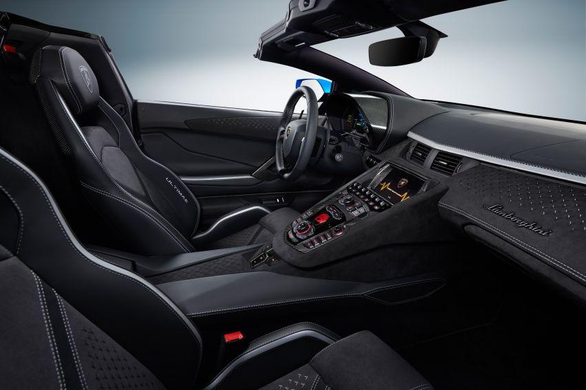 Lamborghini Aventador LP 780-4 Ultimae debuts – 350 coupes, 250 roadsters; 780 PS V12; 0-100 km/h in 2.8s Image #1316846