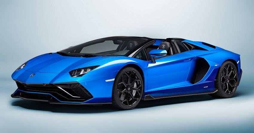Lamborghini Aventador LP 780-4 Ultimae debuts – 350 coupes, 250 roadsters; 780 PS V12; 0-100 km/h in 2.8s Image #1316847