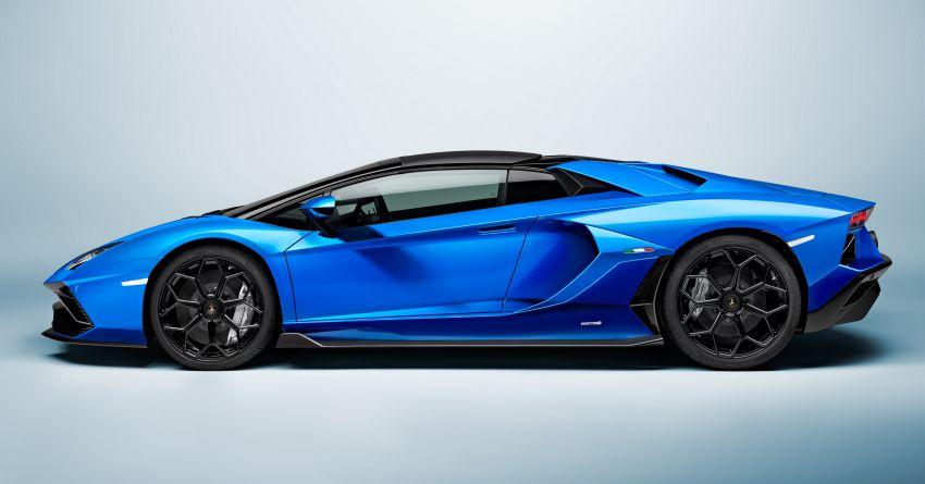 Lamborghini Aventador LP 780-4 Ultimae debuts – 350 coupes, 250 roadsters; 780 PS V12; 0-100 km/h in 2.8s Image #1316853