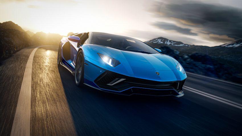 Lamborghini Aventador LP 780-4 Ultimae debuts – 350 coupes, 250 roadsters; 780 PS V12; 0-100 km/h in 2.8s Image #1316830