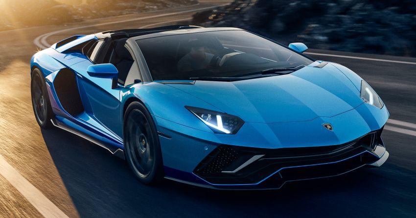 Lamborghini Aventador LP 780-4 Ultimae debuts – 350 coupes, 250 roadsters; 780 PS V12; 0-100 km/h in 2.8s Image #1316831