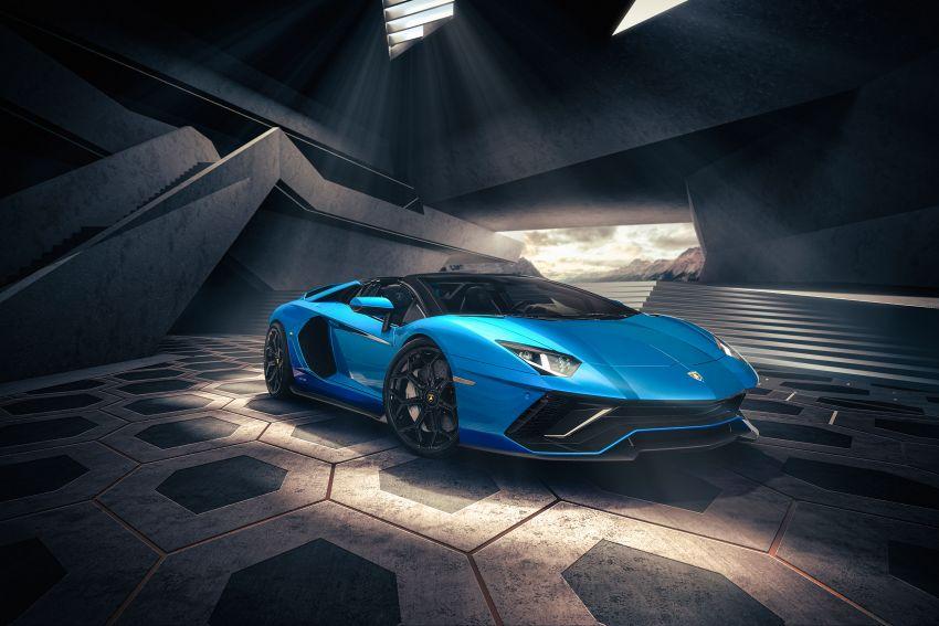 Lamborghini Aventador LP 780-4 Ultimae debuts – 350 coupes, 250 roadsters; 780 PS V12; 0-100 km/h in 2.8s Image #1316832