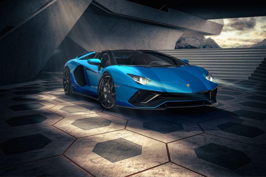 Lamborghini Aventador LP 780-4 Ultimae debuts – 350 coupes, 250 roadsters; 780 PS V12; 0-100 km/h in 2.8s Image #1316837