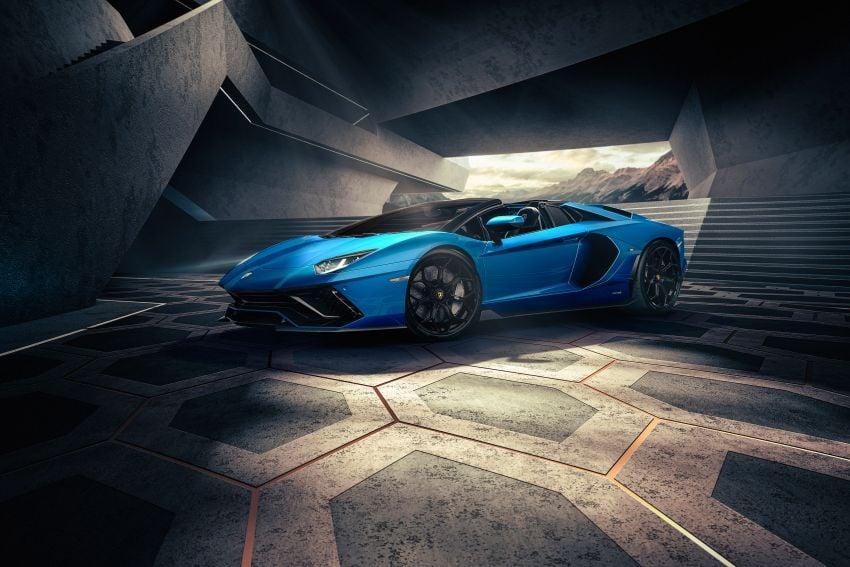 Lamborghini Aventador LP 780-4 Ultimae debuts – 350 coupes, 250 roadsters; 780 PS V12; 0-100 km/h in 2.8s Image #1316841