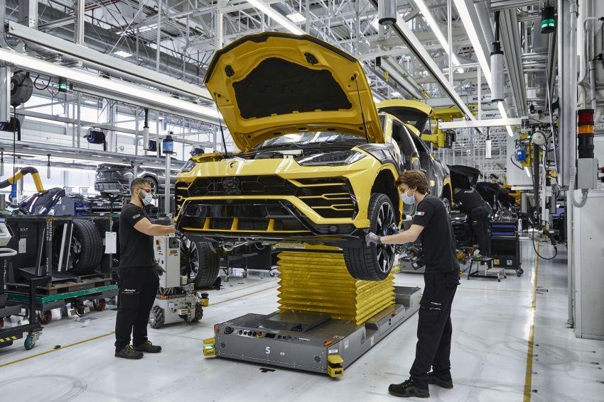 Lamborghini Urus – produksi capai angka 15,000 unit hanya dalam tiga tahun, rekod baharu untuk syarikat Image #1321377
