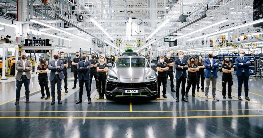 Lamborghini Urus – produksi capai angka 15,000 unit hanya dalam tiga tahun, rekod baharu untuk syarikat Image #1321380
