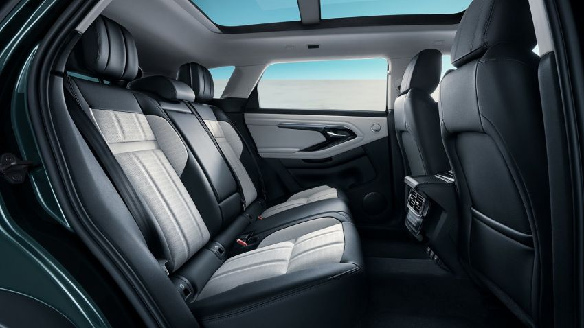 2021 Range Rover Evoque L – long wheelbase variant debuts in China, 125 mm more rear legroom; RM280k Image #1320384