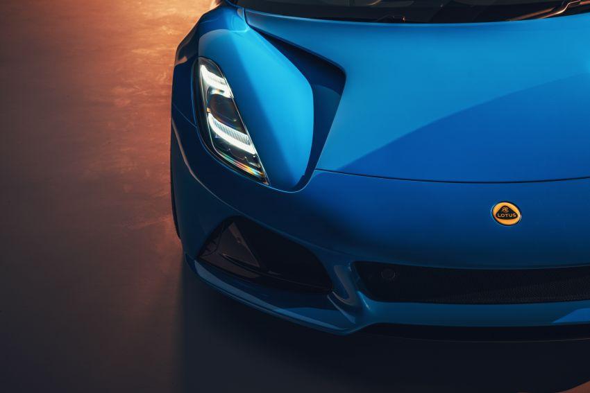 Lotus Emira diperkenal – tawar enjin 2.0L dan DCT dari Mercedes-AMG A 45, 3.5L V6 Toyota manual & auto Image #1316093