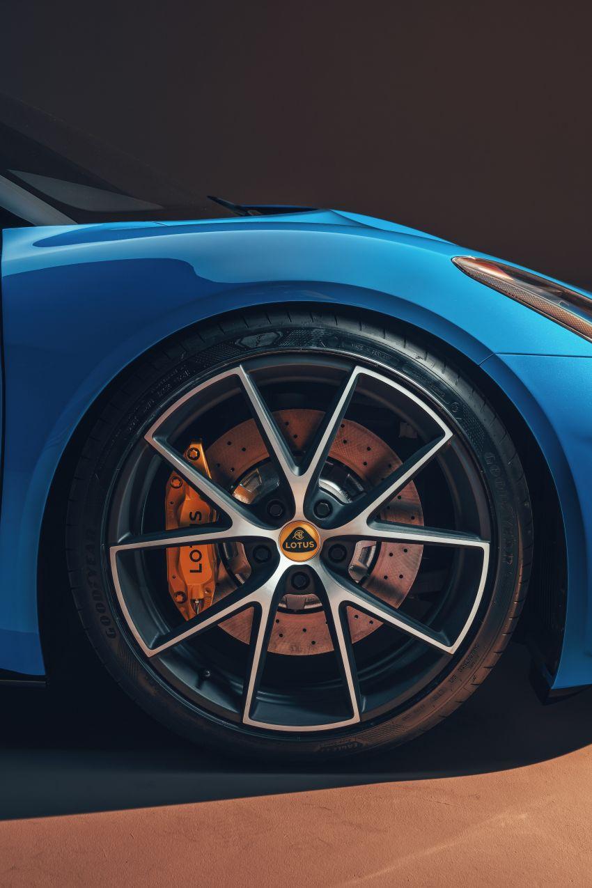 Lotus Emira diperkenal – tawar enjin 2.0L dan DCT dari Mercedes-AMG A 45, 3.5L V6 Toyota manual & auto Image #1316087