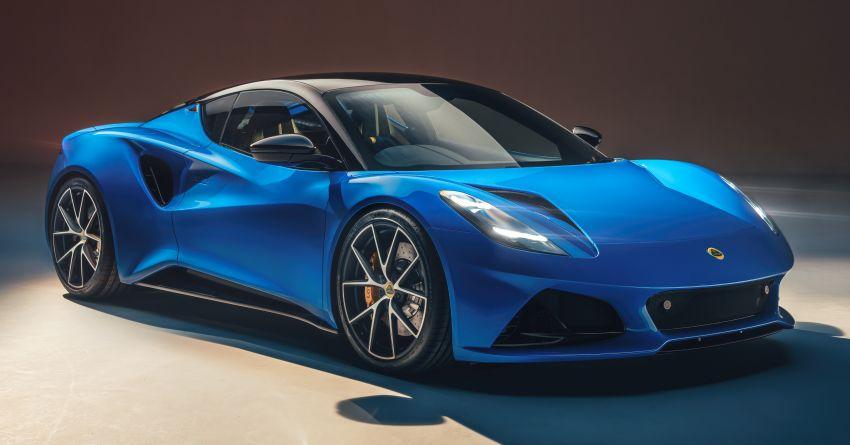 Lotus Emira diperkenal – tawar enjin 2.0L dan DCT dari Mercedes-AMG A 45, 3.5L V6 Toyota manual & auto Image #1316103