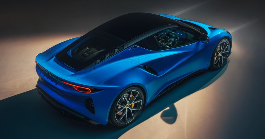 Lotus Emira debuts – 3.5L V6 and AMG 2.0L turbo four-cylinder; up to 400 hp, 430 Nm; manual, auto and DCT Image #1315815