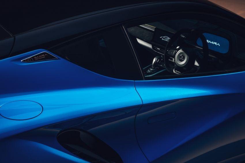 Lotus Emira diperkenal – tawar enjin 2.0L dan DCT dari Mercedes-AMG A 45, 3.5L V6 Toyota manual & auto Image #1316082