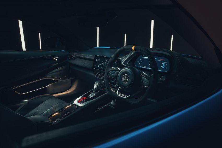 Lotus Emira diperkenal – tawar enjin 2.0L dan DCT dari Mercedes-AMG A 45, 3.5L V6 Toyota manual & auto Image #1316081