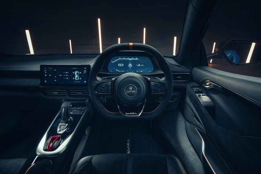 Lotus Emira diperkenal – tawar enjin 2.0L dan DCT dari Mercedes-AMG A 45, 3.5L V6 Toyota manual & auto Image #1316080
