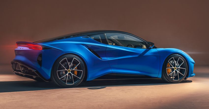Lotus Emira diperkenal – tawar enjin 2.0L dan DCT dari Mercedes-AMG A 45, 3.5L V6 Toyota manual & auto Image #1316100