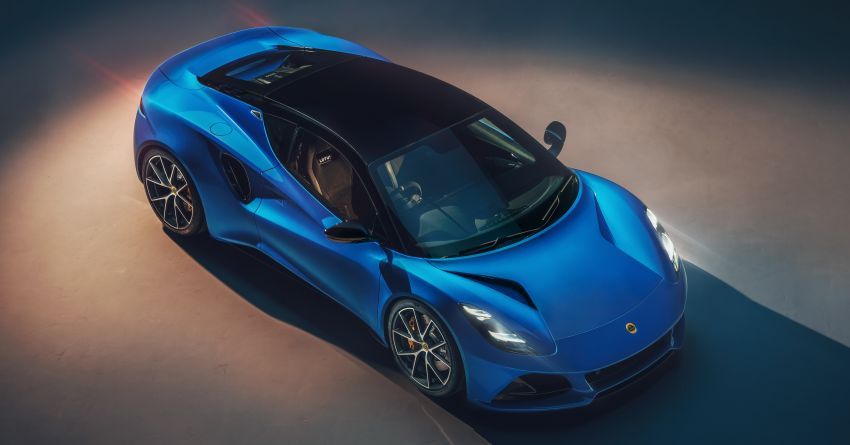 Lotus Emira debuts – 3.5L V6 and AMG 2.0L turbo four-cylinder; up to 400 hp, 430 Nm; manual, auto and DCT Image #1315819