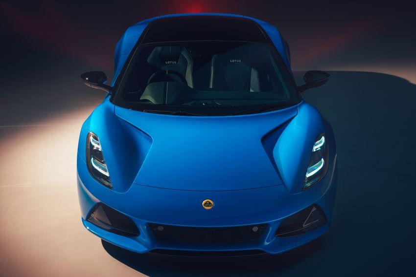 Lotus Emira diperkenal – tawar enjin 2.0L dan DCT dari Mercedes-AMG A 45, 3.5L V6 Toyota manual & auto Image #1316098