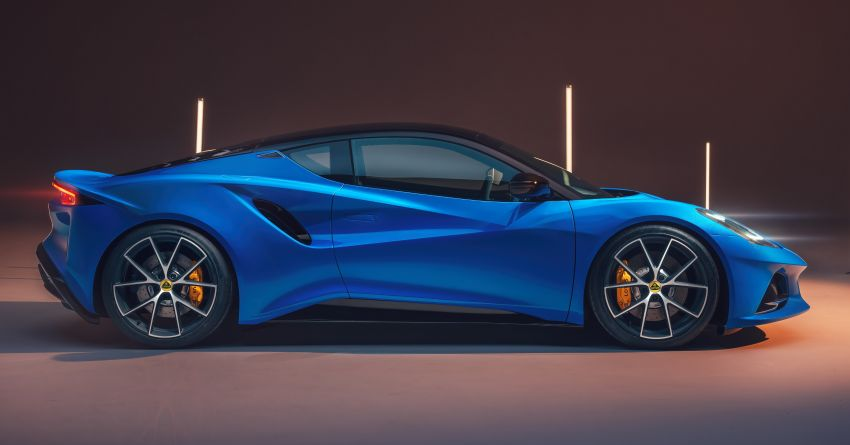 Lotus Emira debuts – 3.5L V6 and AMG 2.0L turbo four-cylinder; up to 400 hp, 430 Nm; manual, auto and DCT Image #1315822