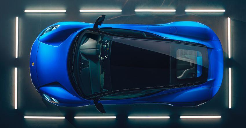 Lotus Emira diperkenal – tawar enjin 2.0L dan DCT dari Mercedes-AMG A 45, 3.5L V6 Toyota manual & auto Image #1316095