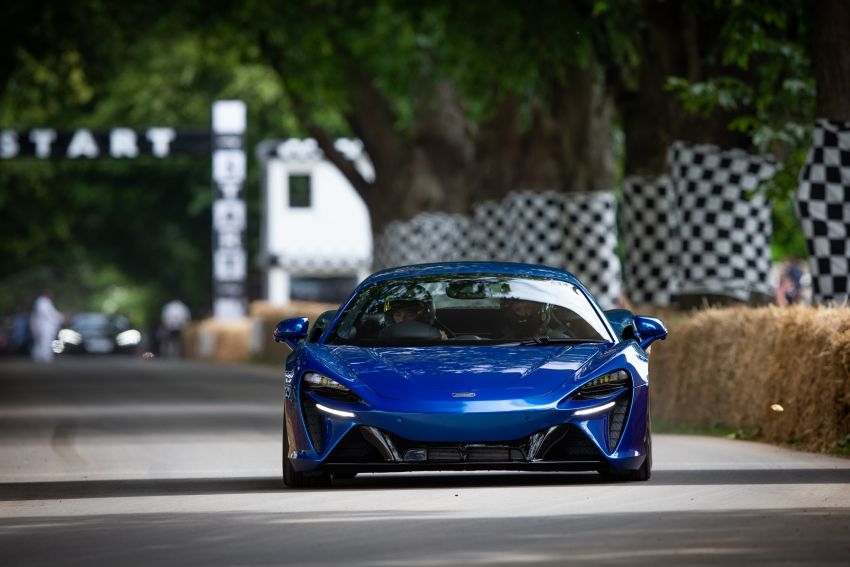 McLaren 720S GT3X is the fastest supercar at the 2021 Goodwood hill climb – 45.01 seconds, beats the P1 LM Image #1318727