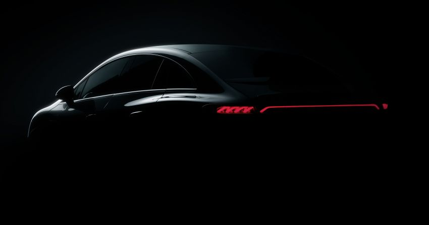 Mercedes-Benz EQE teased before Sept unveiling in Munich – AMG EV, Maybach EV concept to also debut Image #1324898