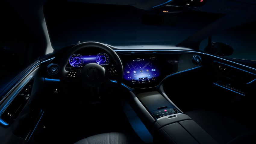 Mercedes-Benz EQE teased before Sept unveiling in Munich – AMG EV, Maybach EV concept to also debut Image #1324900