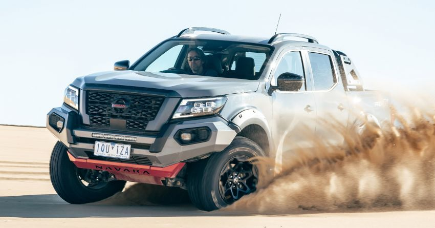 Nissan Navara Pro-4X Warrior launched in Australia – rugged pick-up with revised suspension, new styling Image #1314672
