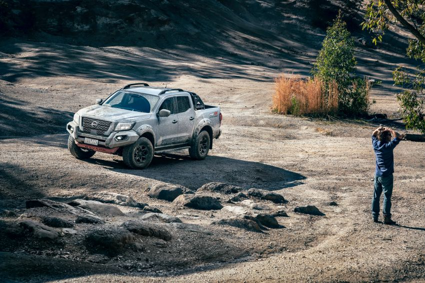 Nissan Navara Pro-4X Warrior launched in Australia – rugged pick-up with revised suspension, new styling Image #1314676