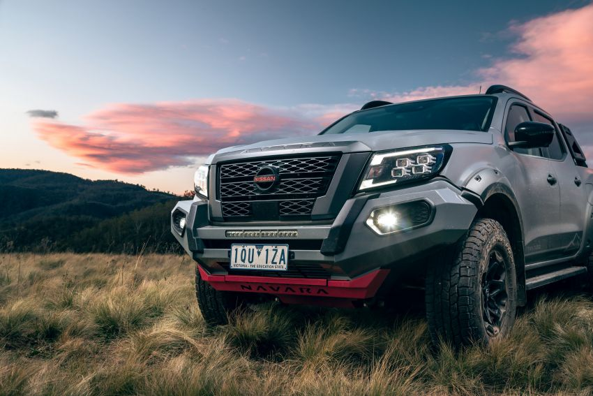 Nissan Navara Pro-4X Warrior launched in Australia – rugged pick-up with revised suspension, new styling Image #1314677