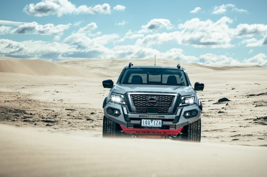 Nissan Navara Pro-4X Warrior launched in Australia – rugged pick-up with revised suspension, new styling Image #1314678