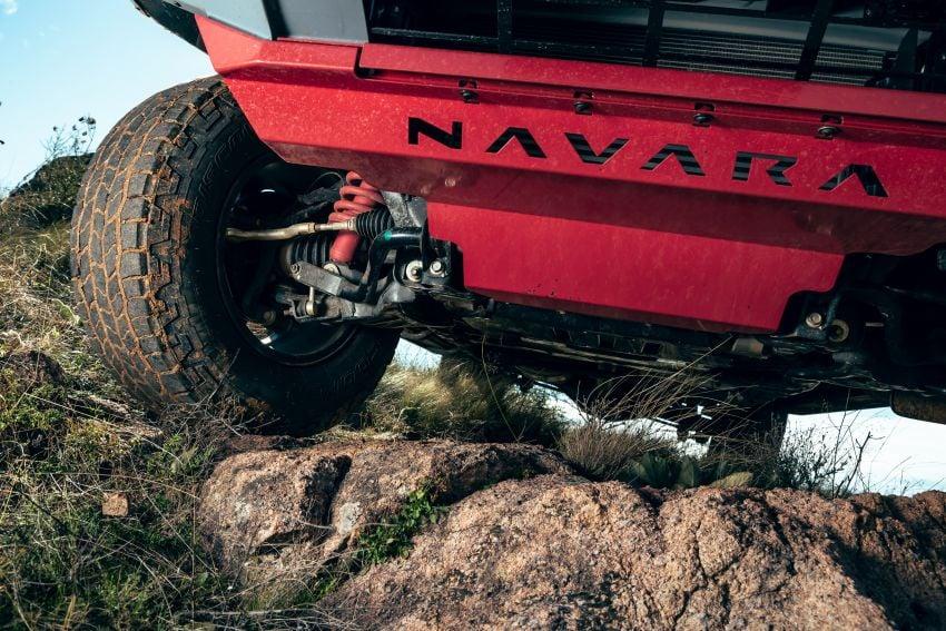 Nissan Navara Pro-4X Warrior dilancarkan di Australia – terima talaan suspensi dan kelengkapan lebih lasak Image #1314930
