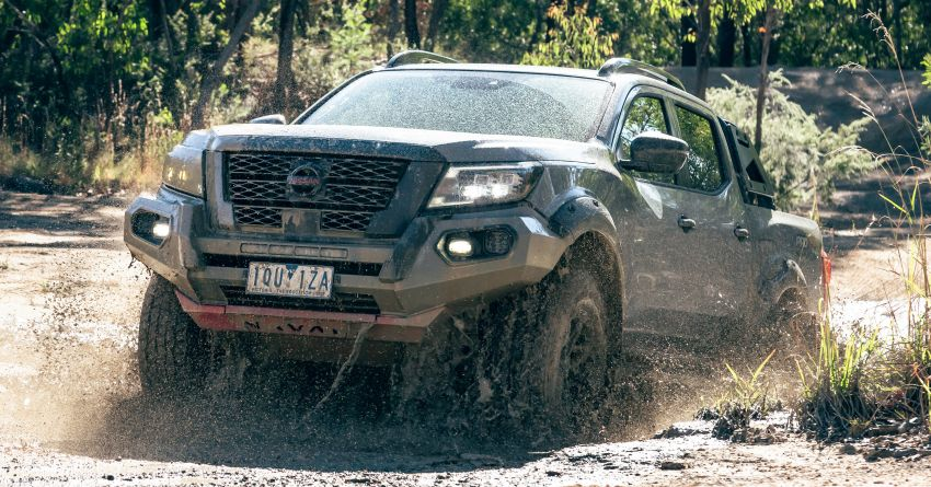 Nissan Navara Pro-4X Warrior launched in Australia – rugged pick-up with revised suspension, new styling Image #1314680