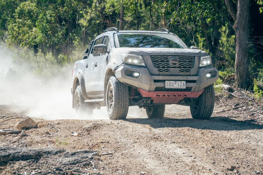 Nissan Navara Pro-4X Warrior launched in Australia – rugged pick-up with revised suspension, new styling Image #1314664