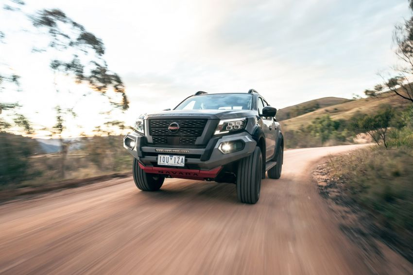 Nissan Navara Pro-4X Warrior launched in Australia – rugged pick-up with revised suspension, new styling Image #1314683