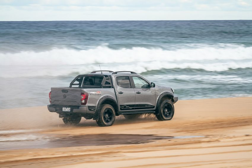 Nissan Navara Pro-4X Warrior launched in Australia – rugged pick-up with revised suspension, new styling Image #1314684