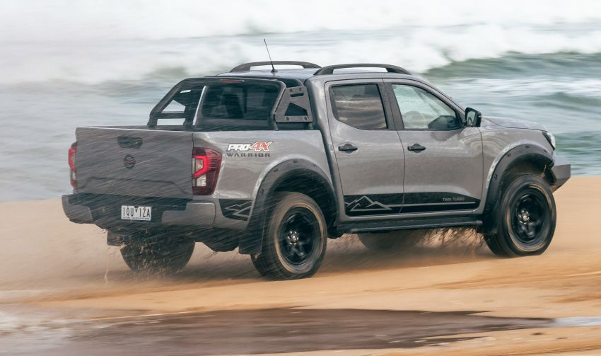 Nissan Navara Pro-4X Warrior dilancarkan di Australia – terima talaan suspensi dan kelengkapan lebih lasak Image #1314907