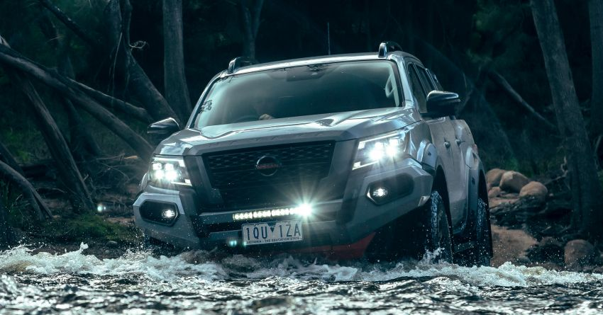 Nissan Navara Pro-4X Warrior launched in Australia – rugged pick-up with revised suspension, new styling Image #1314686