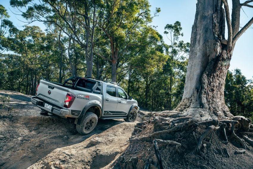 Nissan Navara Pro-4X Warrior dilancarkan di Australia – terima talaan suspensi dan kelengkapan lebih lasak Image #1314901