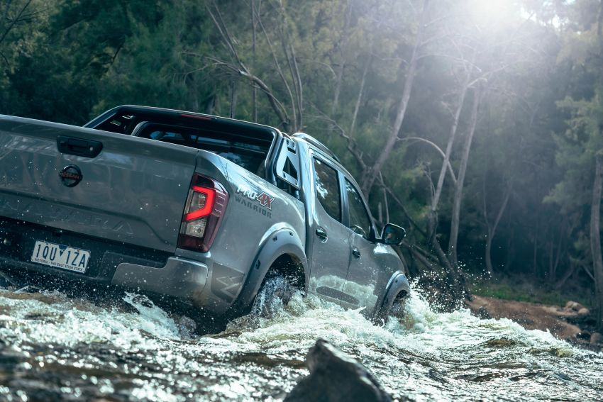 Nissan Navara Pro-4X Warrior launched in Australia – rugged pick-up with revised suspension, new styling Image #1314690