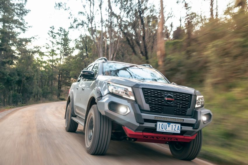 Nissan Navara Pro-4X Warrior launched in Australia – rugged pick-up with revised suspension, new styling Image #1314692