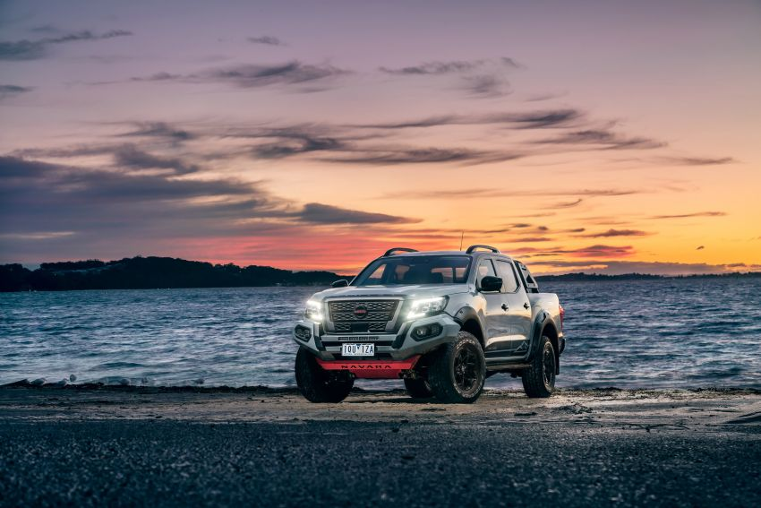 Nissan Navara Pro-4X Warrior launched in Australia – rugged pick-up with revised suspension, new styling Image #1314702