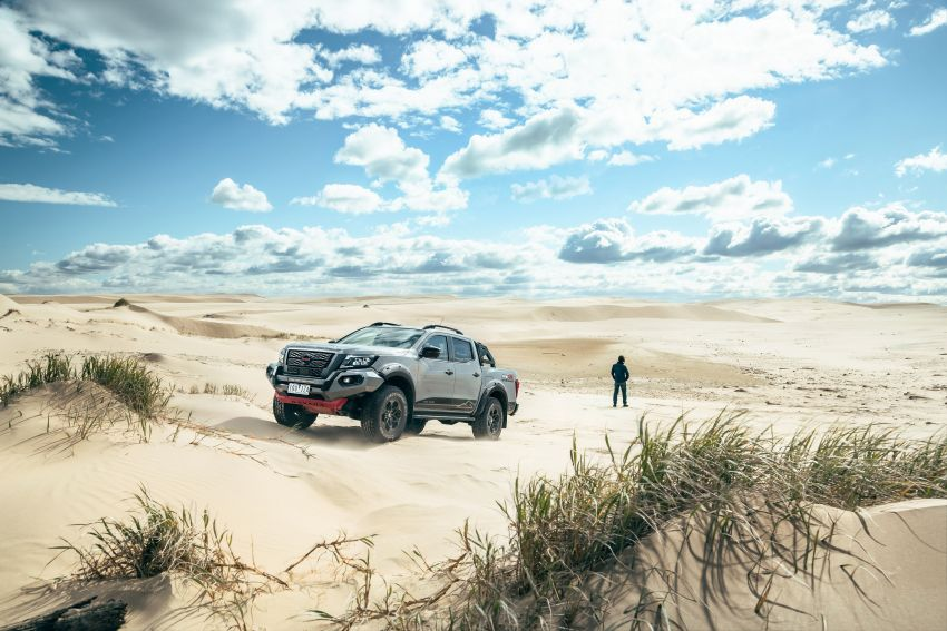 Nissan Navara Pro-4X Warrior launched in Australia – rugged pick-up with revised suspension, new styling Image #1314666