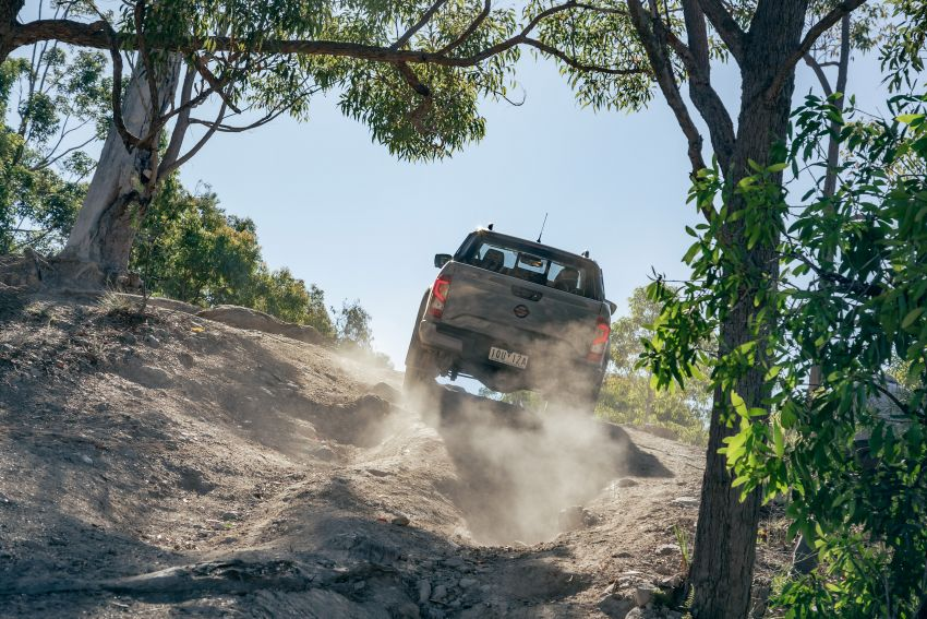 Nissan Navara Pro-4X Warrior launched in Australia – rugged pick-up with revised suspension, new styling Image #1314704