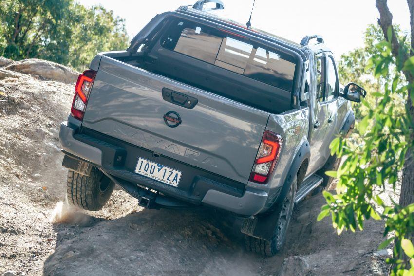 Nissan Navara Pro-4X Warrior dilancarkan di Australia – terima talaan suspensi dan kelengkapan lebih lasak Image #1314874